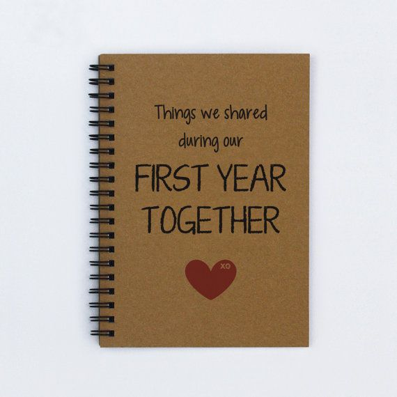 first year together first anniversary things we shared during our