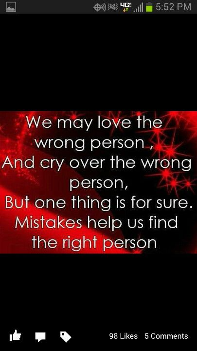 Mistakes   Relationship quotes, Wrong person, Quotes
