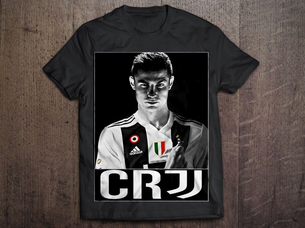 low priced e92b0 f114e Details about New Style 2018 T-SHIRT Cristiano Ronaldo CR7 ...