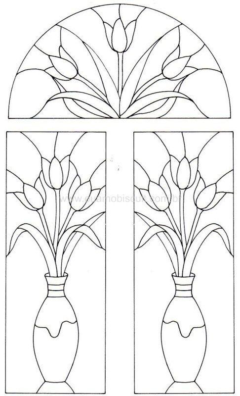 Vidrieras | Plantillas | Pinterest | Vidrieras, Repujado y Mosaicos