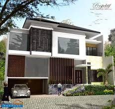 desain rumah minimalis 2 lantai type 200: desain rumah