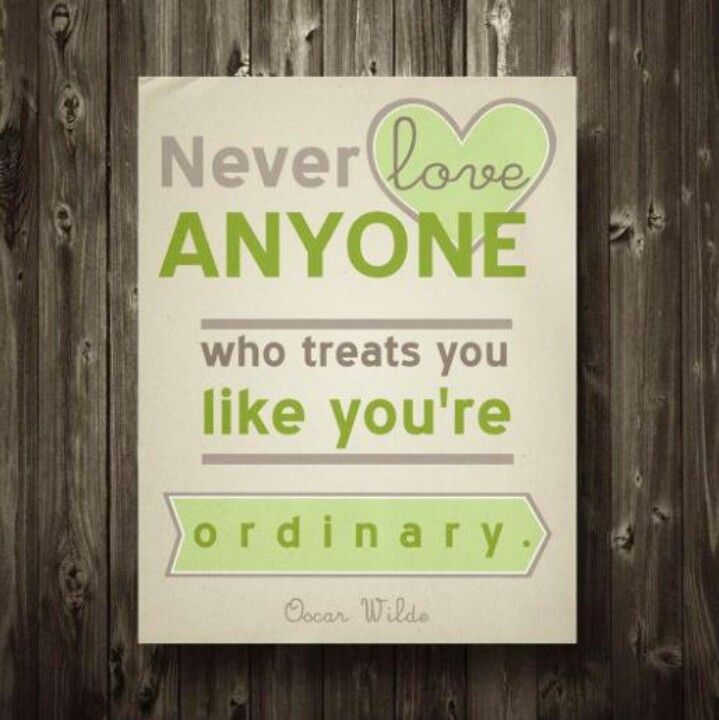So true because none of us are ordinary!