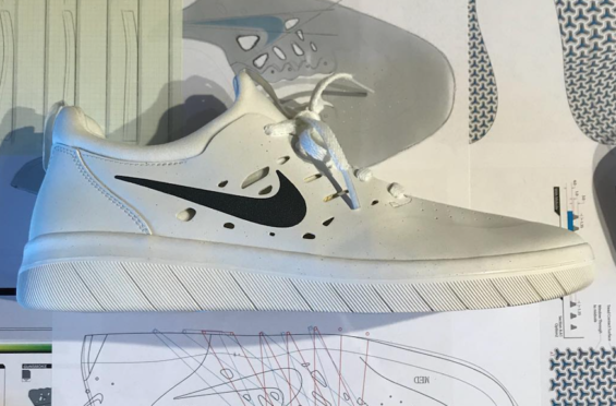A First Look At Nyjah Huston s Nike SB Signature Shoe Set To Release In  2018 Above ee608817f