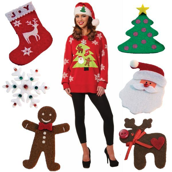 Ugly christmas sweater do it yourself kit 6pcs quotes pinterest ugly christmas sweater do it yourself kit 6pcs quotes pinterest ugliest christmas sweaters solutioingenieria Gallery