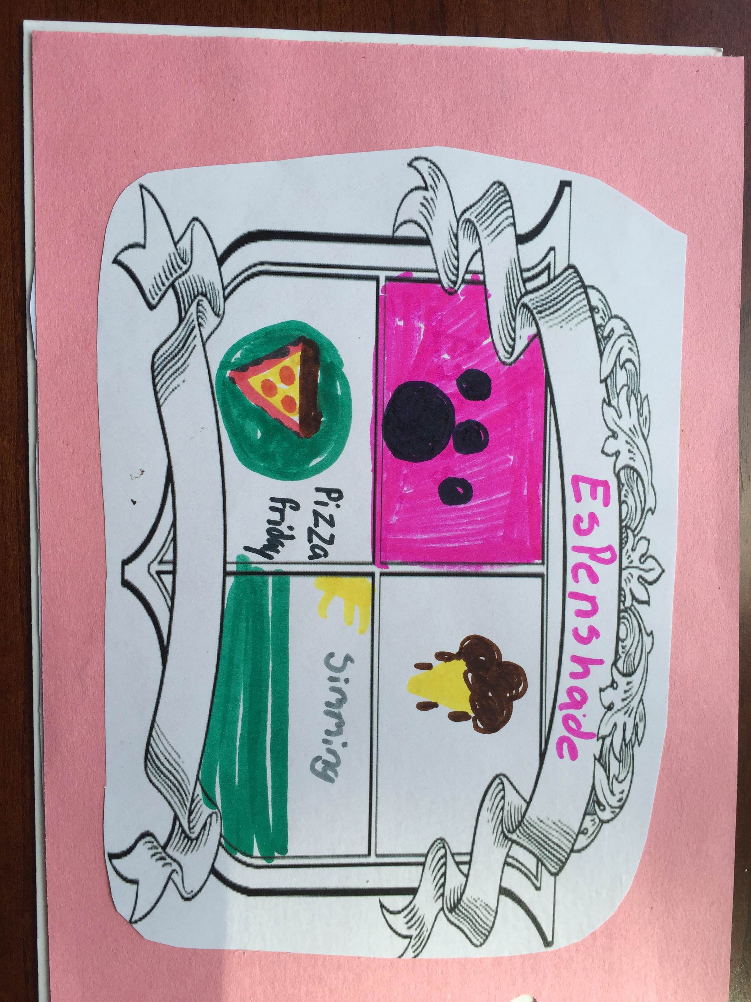 My Family Story Scrapbook Family Crest