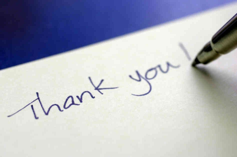 17 Best images about Thank You Note on Pinterest | Interview, Note ...