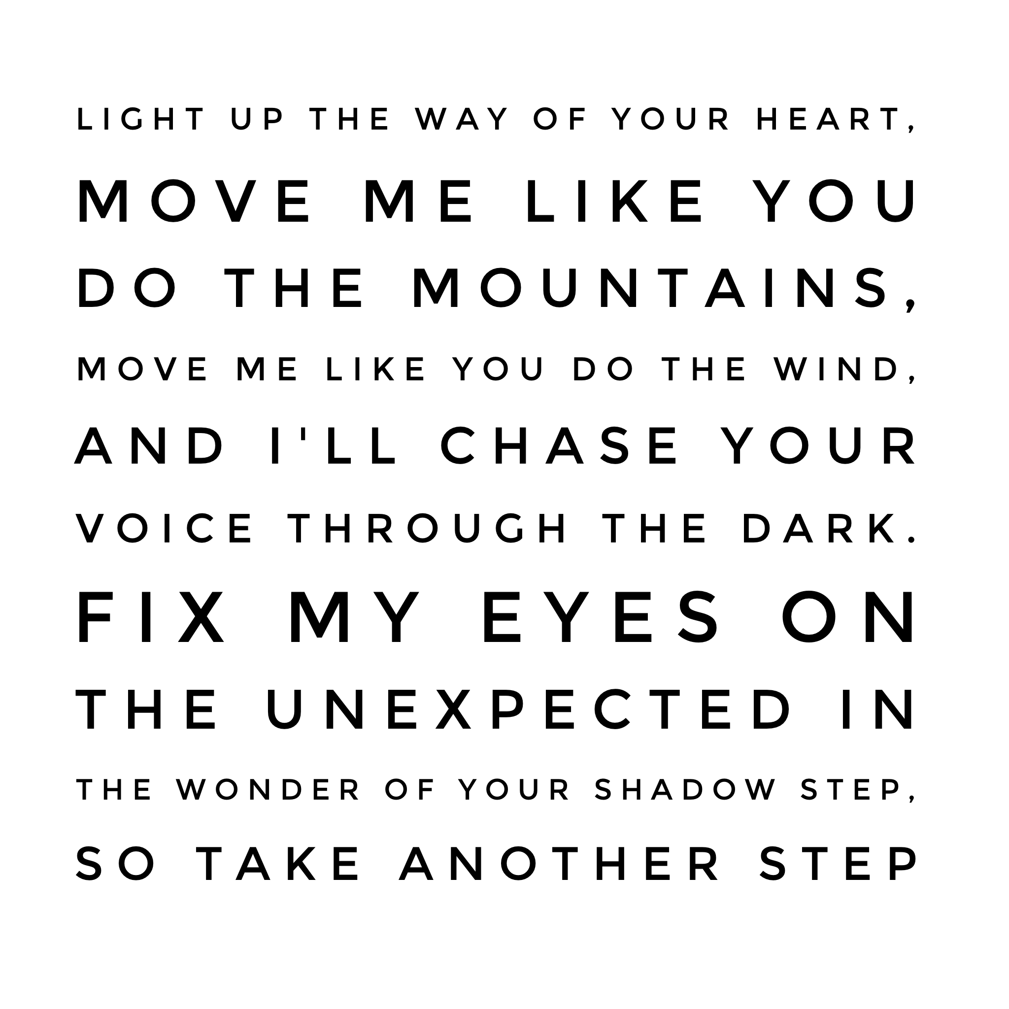 'Shadow Step' by Hillsong United | Song | Shadow quotes ... - photo#15