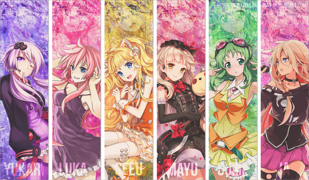 Vocaloid Girls Names THIS IS THE PHOTO^^^^^ Vocaloid