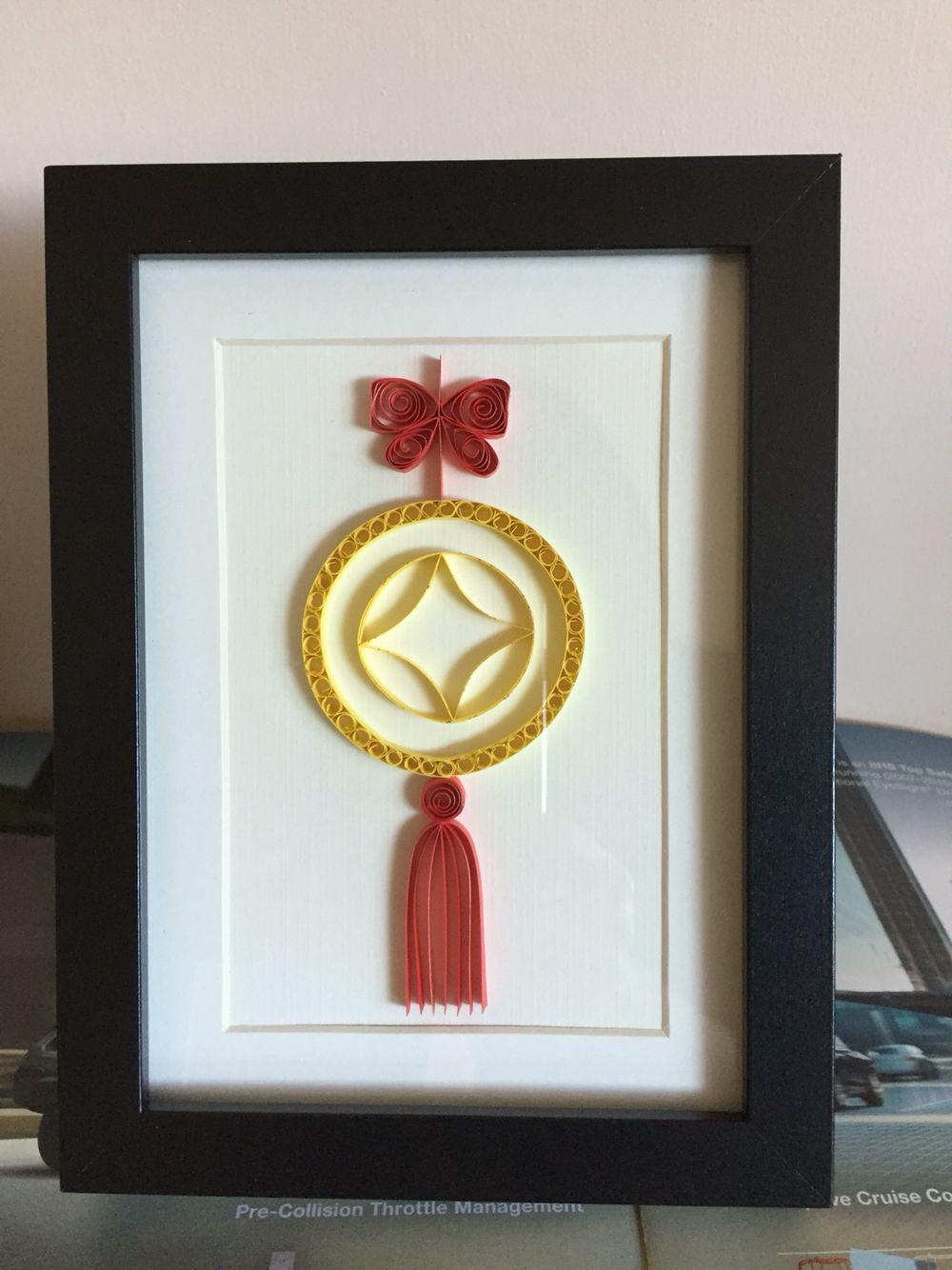 quilled chinese knot httpswwwetsyshop