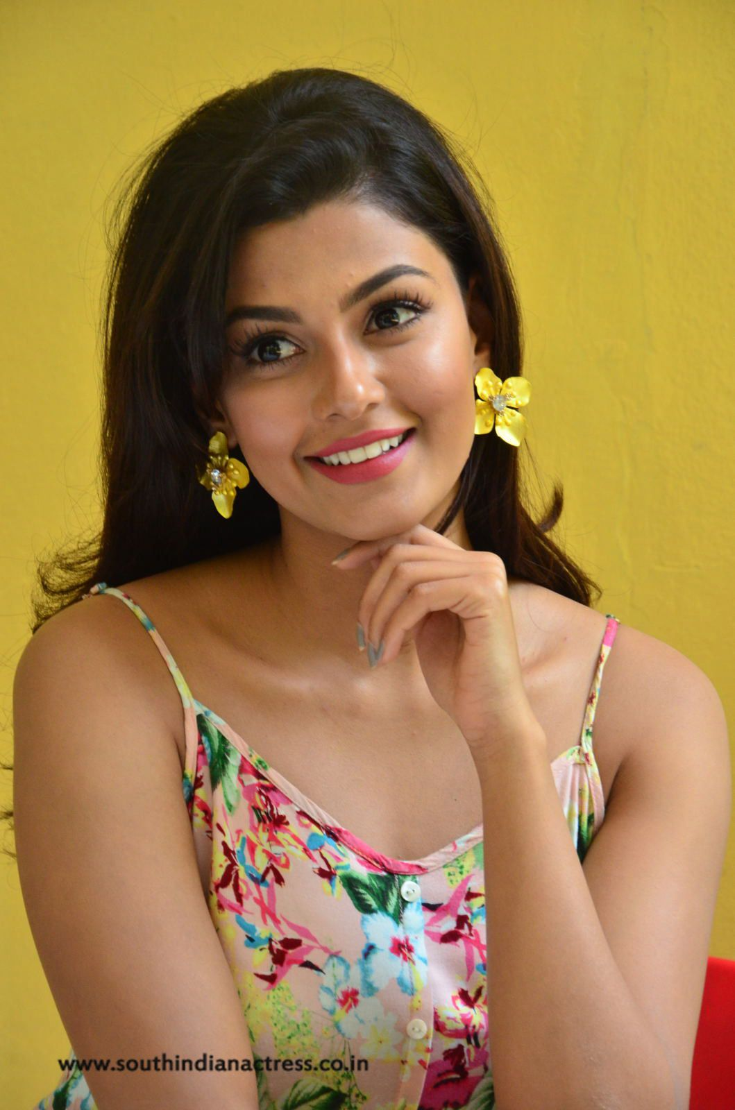 Anisha Ambrose Stills At Fashion Designer Ladies Tailor Movie Success Meet Movie Fashion Fashion Designer S Lady