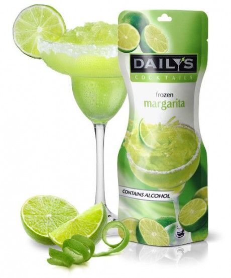 Daily's Margarita Original Frozen Pouch