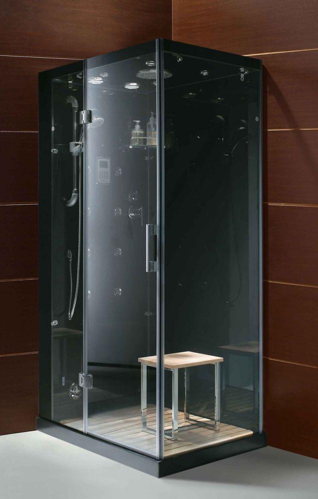 Modern Stylish Steam Shower Enclosure With Multi Body Massage