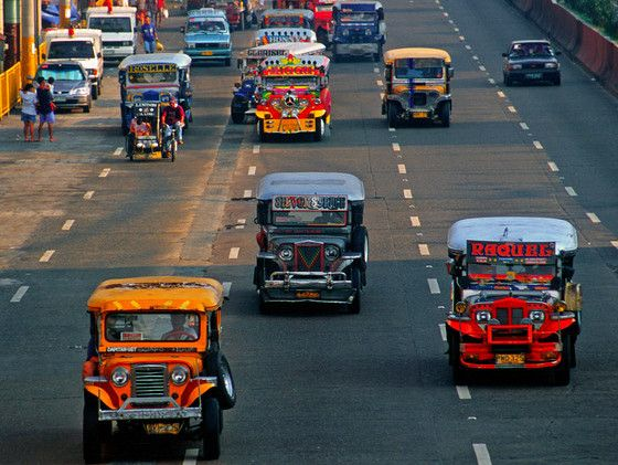 Jeepney Or Jeep Are The Most Popular Means Of Public Transportation Jeepney Philippines Cities Philippines