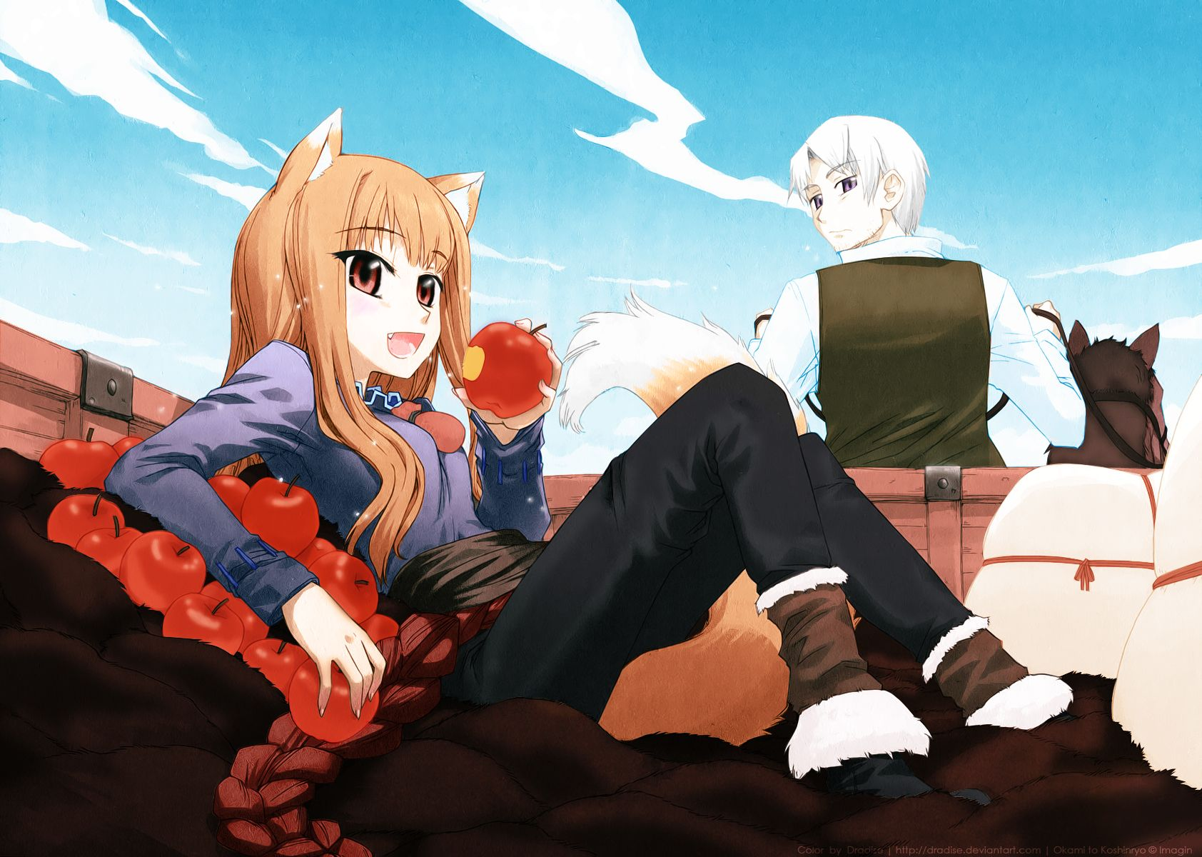 Spice and Wolf | by Dradise @ DeviantART.com // anime ...