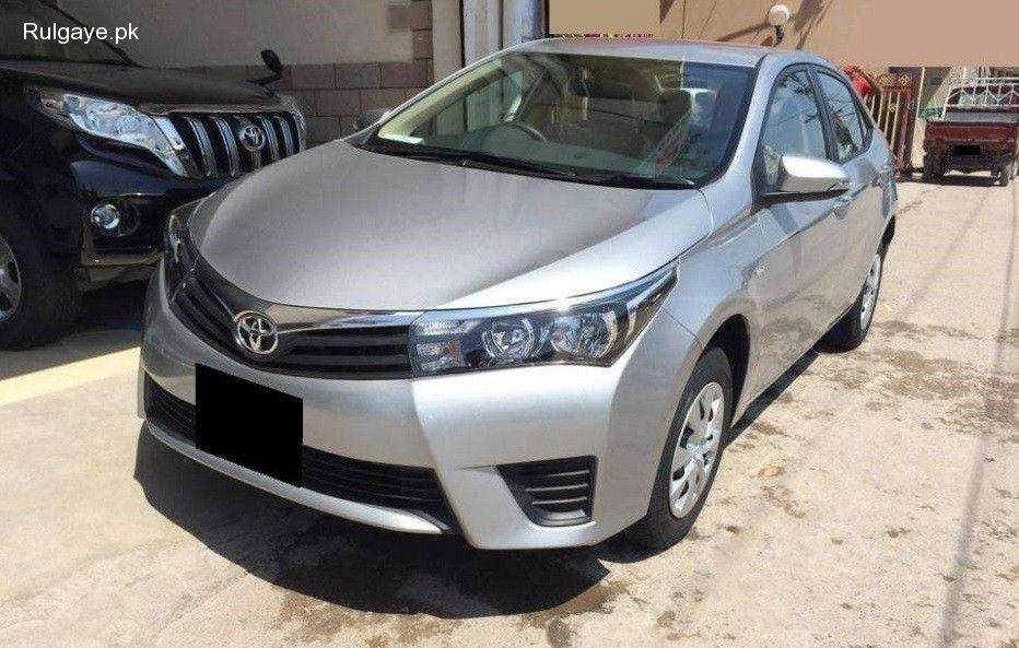 Toyota Corolla Gli 1300 Model 2016 Available On Bank Lease In Lahore