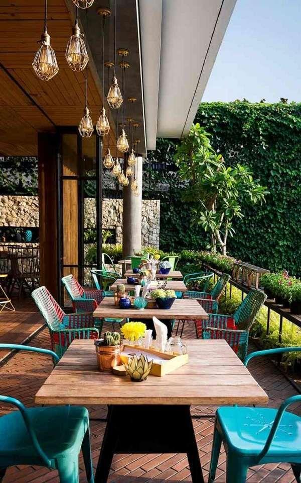 decoration ideas modern restaurant design Lemongrass Indonesia ...