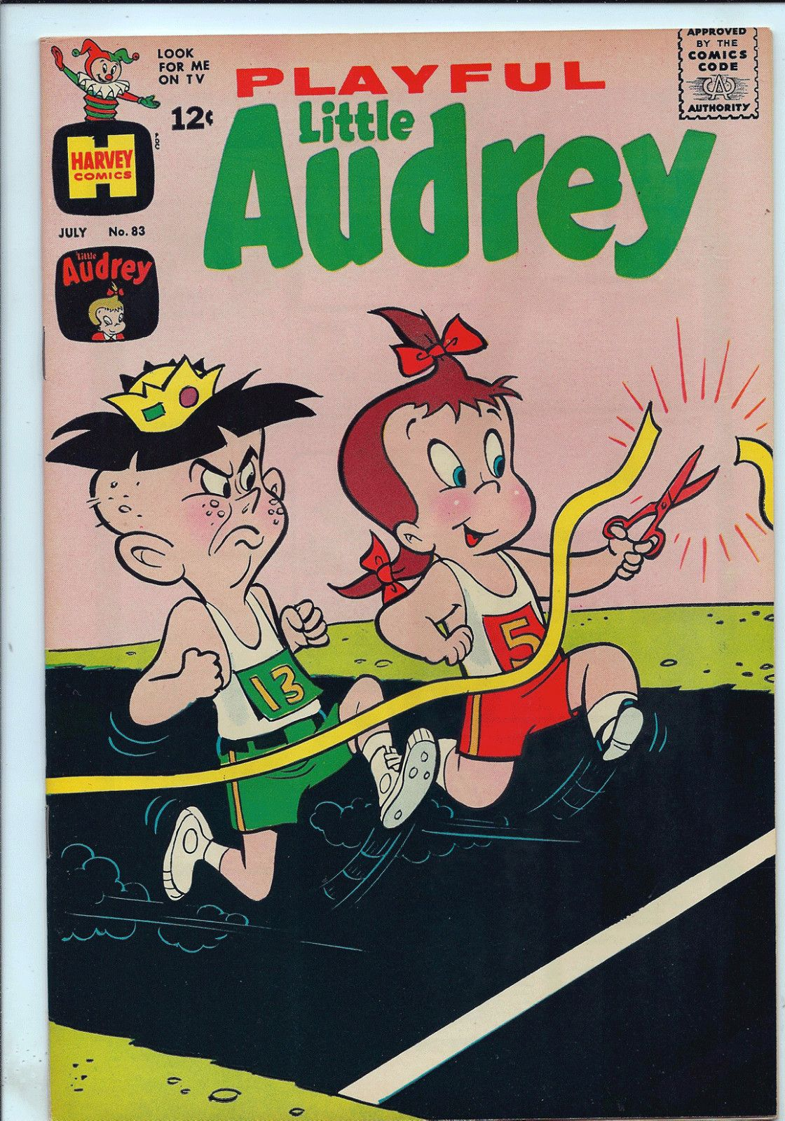 Playful Little Audrey 83 Harvey NM 9 2 $28 00 | eBay