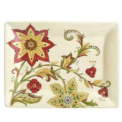 Carynthum Rectangle Platter  sc 1 st  Pinterest & Carynthum Rectangle Platter | Ceramica | Pinterest | Dinner sets and ...