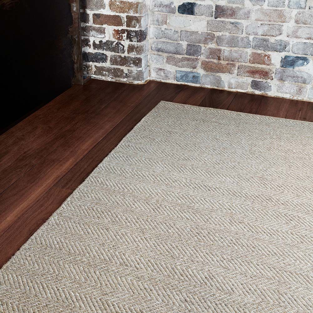 Armadillo Co Designer Herringbone Weave Wool Rug Granite Ecru Rugs Australia Herringbone Rug Floor Rugs Diy