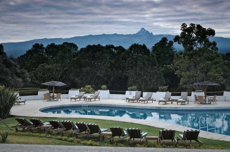 Neighboring Aberdare National Park And Mount Kenya Is The Fairmont