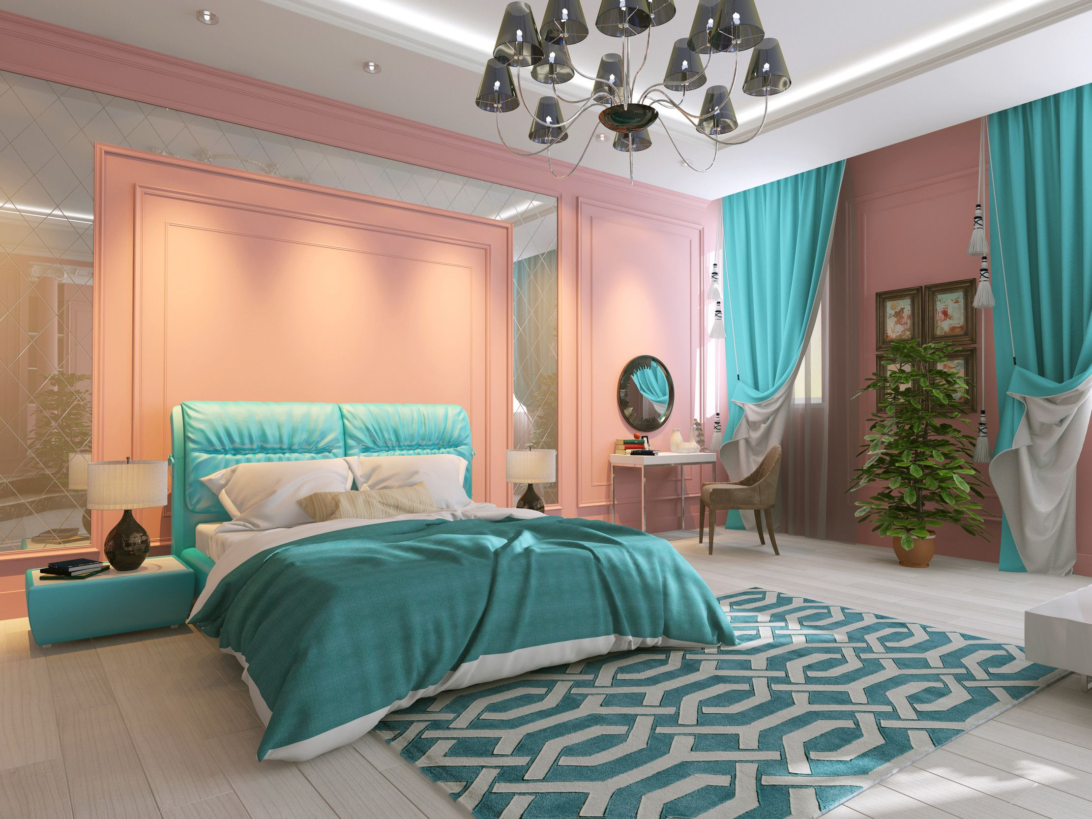 10 Brilliant Turquoise Room Ideas To Freshen Up Your Home Bedroom Turquoise Turquoise Bedroom Decor Turquoise Room