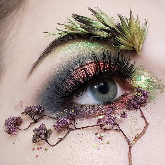 Pin By Lauren Eldarazi On Makeup Creative Eye Makeup Fantasy
