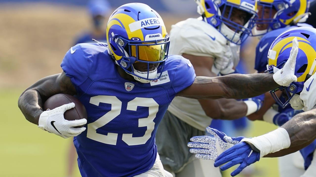 Wyche Cam Akers Van Jefferson Among Stand Outs At Rams Camp Nfl News In 2020 Nfl News Nfl Nfl Network