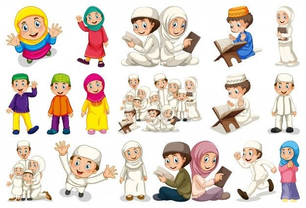21 Gambar Kartun Muslimah Laki Laki Dan Perempuan Muslim Vectors Photos And Psd Files Free Download Download 2019 Gambar Kartun Musl Di 2020 Kartun Gambar Animasi