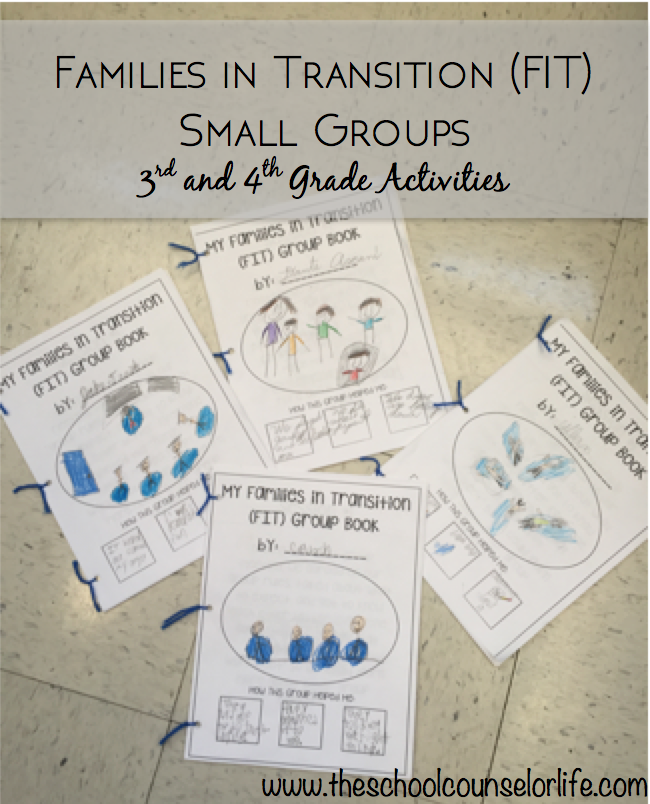 Families in Transition counseling small group activities