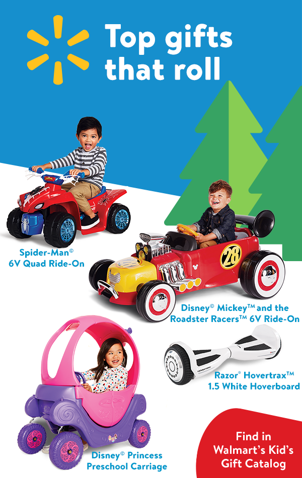 Walmart\'s Kids Gift Catalog is here! Walmart has low prices on all ...