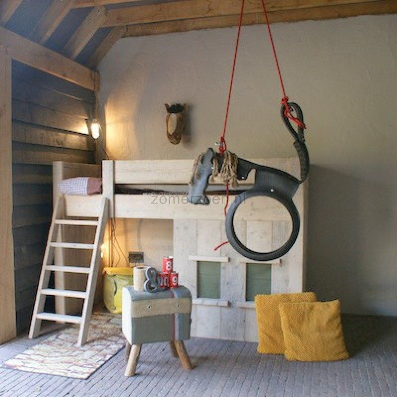 hoogslaper steigerhout google zoeken kids room pinterest