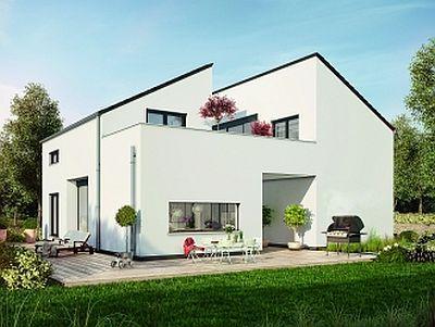 Haus Mit Dachterrasse Bauen im september 2015 baut okal haus ein neues musterhaus mit großer