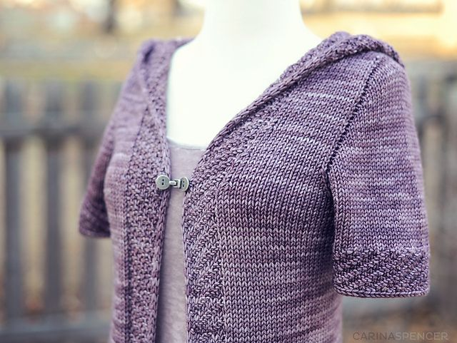 Ravelry: Watercourse pattern by Carina Spencer-- Think I'm going to knit this, just need to decide on yarn.