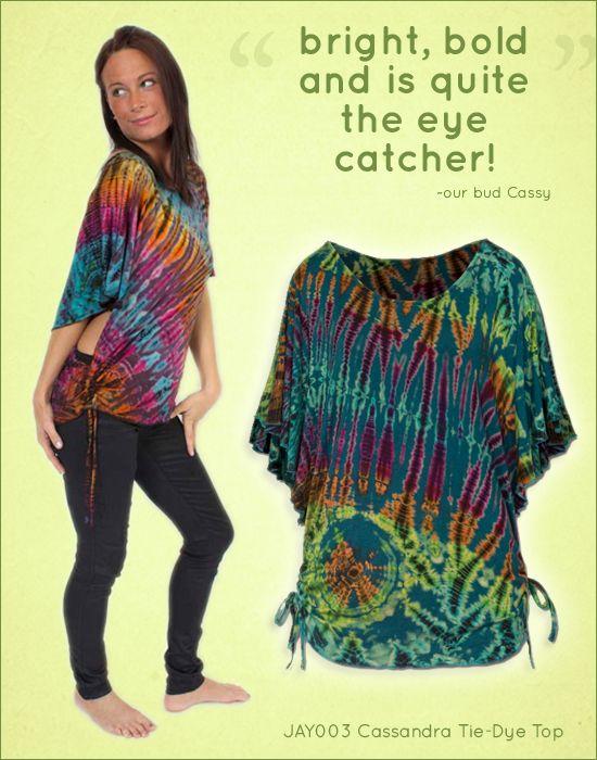 Cassandra Tie-Dye Top five star reviews