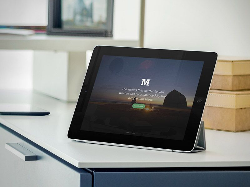 ipad mockup black ipad business center your app marketed on ipad try it here - Ipad And Iphone Mockup