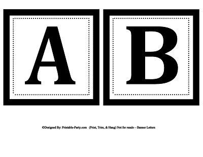 Printable Alphabet Letters A Z