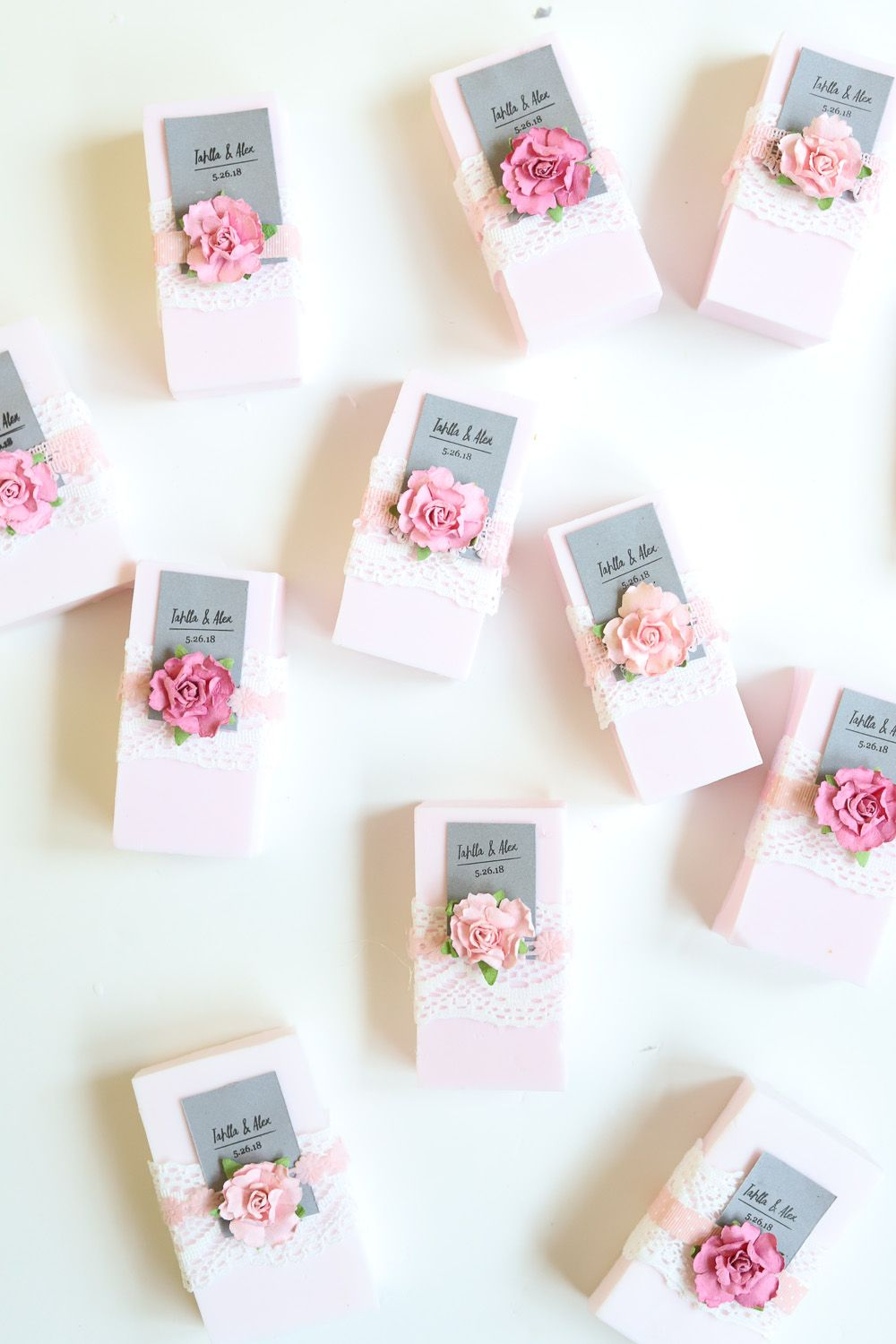 Easy DIY Wedding Favor: Personalized Soap | Favors and Easy