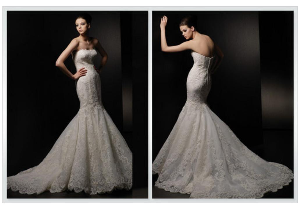 Enzoani dakota size new unaltered wedding dresses