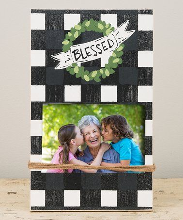 Another great find on #zulily! \'Blessed\' Frame #zulilyfinds | secret ...