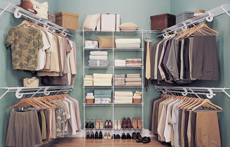 10 Wire Shelves Design for your room   Wire closet ...
