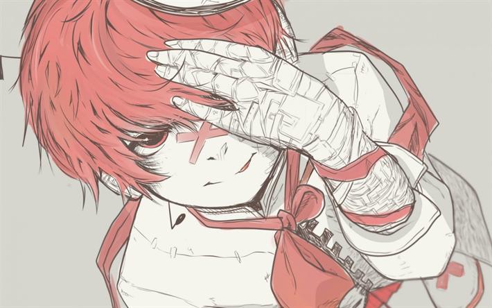 Sfondi rossi anime
