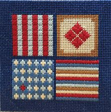 The place to buy modern, colorful and small needlepoint samp…