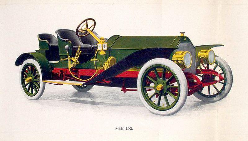 1909 Palmer-Singer Motor Car Model LXI  Rumble, 6 cylinder, 60 h.p. ~  Palmer & Singer Motor Cars, Long Island City, NY