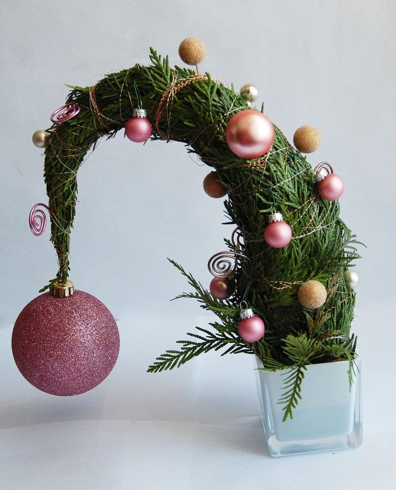 Whoville Inspired Christmas Decorations - Mini whoville tree