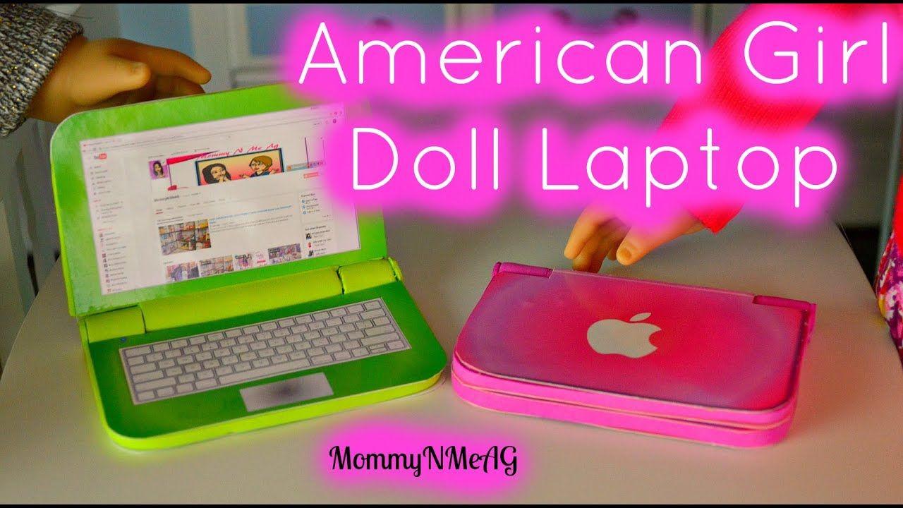 DIY American Girl Doll Laptop | Mini Apple Macbook Air