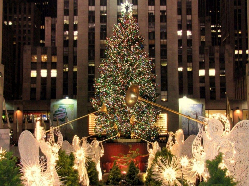 Christmas In New York City Desktop Wallpaper