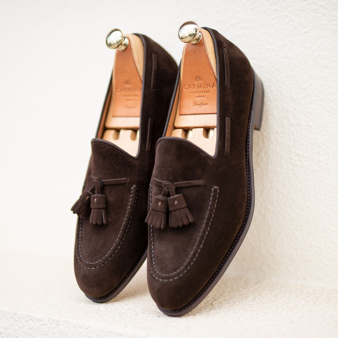 6fbfb37892bd6 TASSEL LOAFERS 80367 FOREST IN BROWN SUEDE ...   Men`s Shoes in 2019 ...