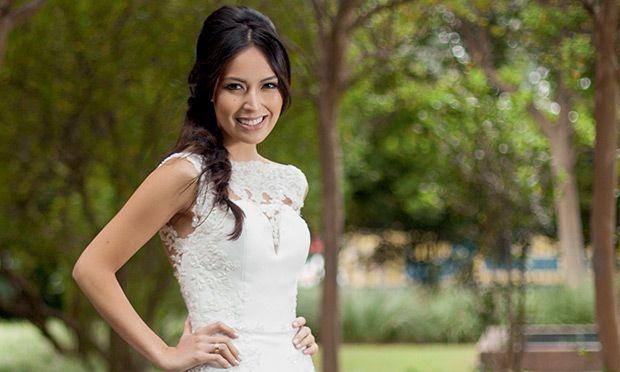 Vestido de noiva: confira o molde de um modelo curto e jovem