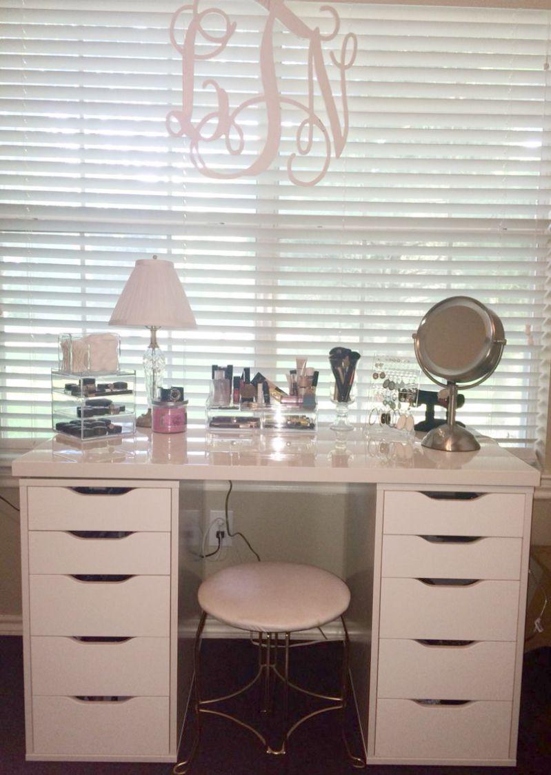Makeup Looks With Jaclyn Hill Vault Along With Makeup Forever Aqua Brow Your Makeup Organization And Storage Not Makeup S Vanity Decor Home Decor Makeup Vanity