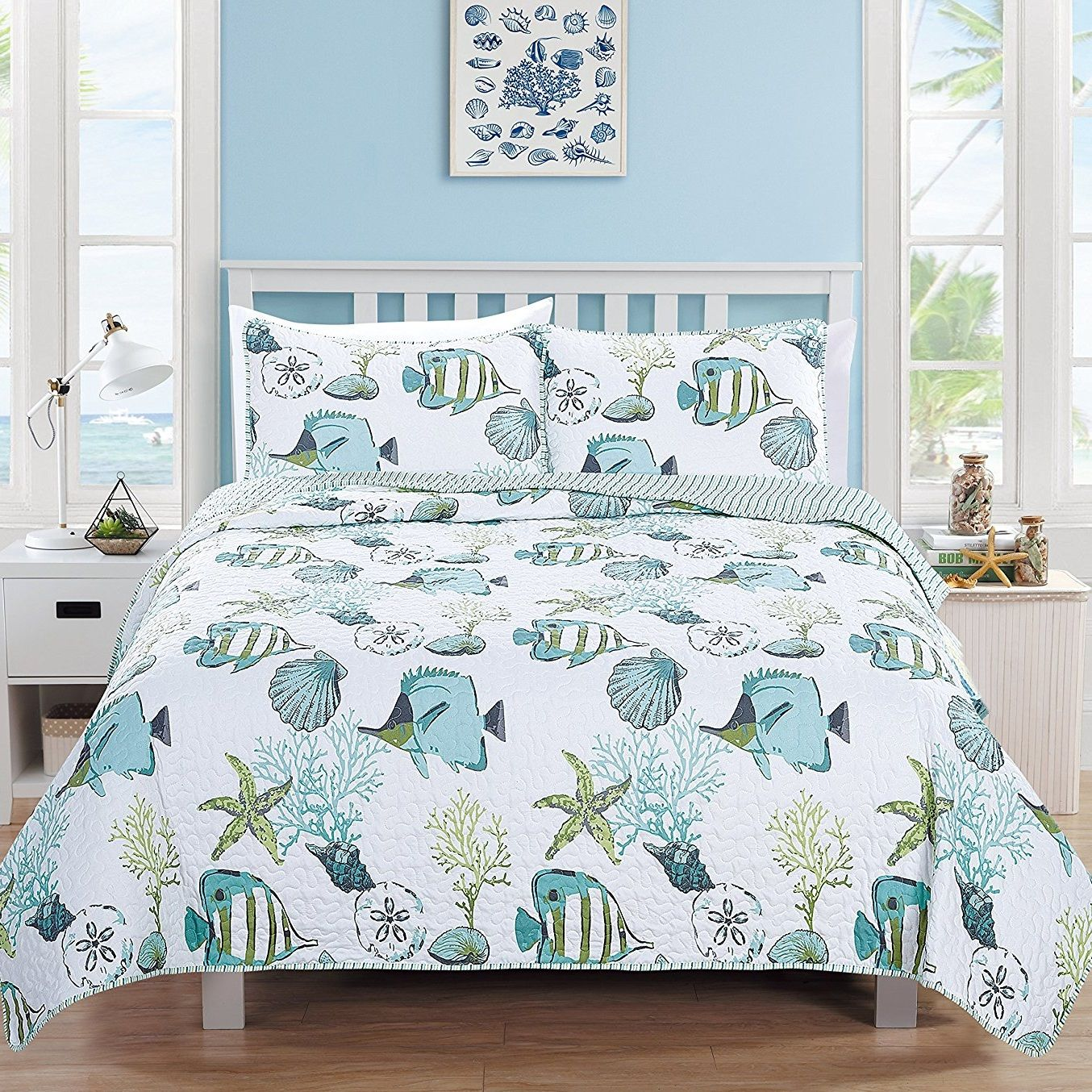 200 Coastal Bedding Sets And Beach Bedding Sets For 2020 Beach Bedding Sets Quilt Sets Bedding Sets